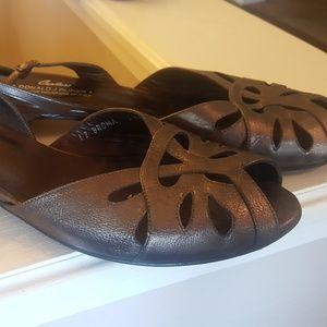 DONALD PLINER COUTURE Broma Bronze Sandals 9.5 M